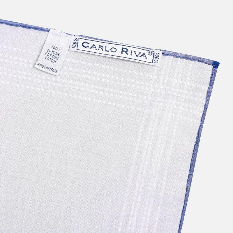 CARLO RIVA ポケットチーフ